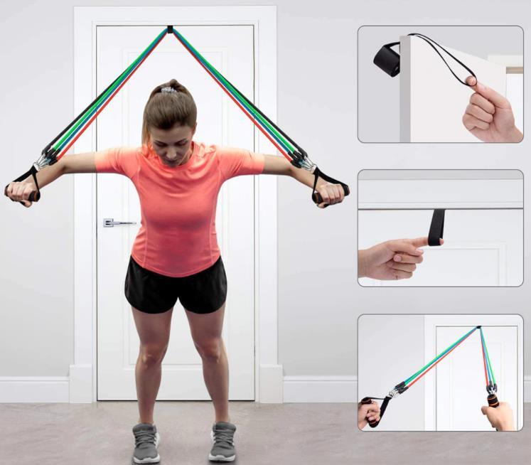 Az otthoni edzés elengedhetetlen terméke: gumikötélszett 5