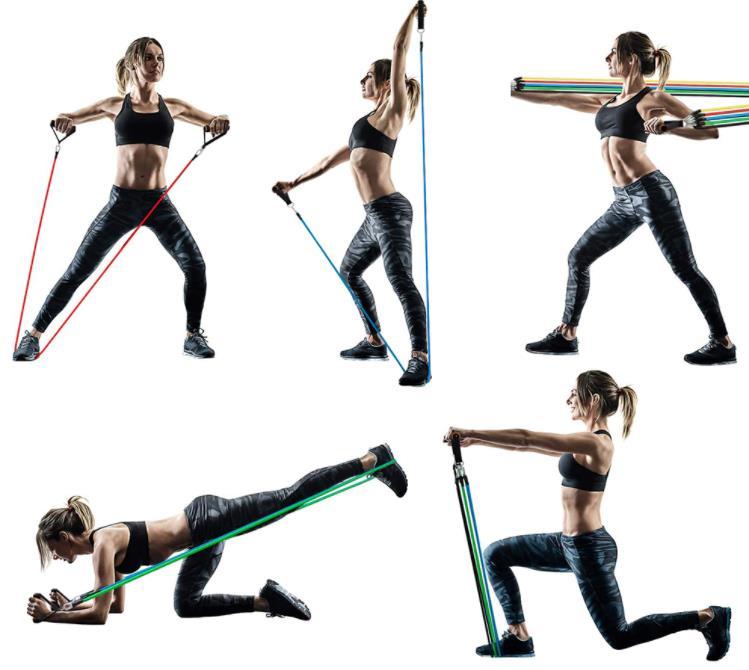 Az otthoni edzés elengedhetetlen terméke: gumikötélszett 3