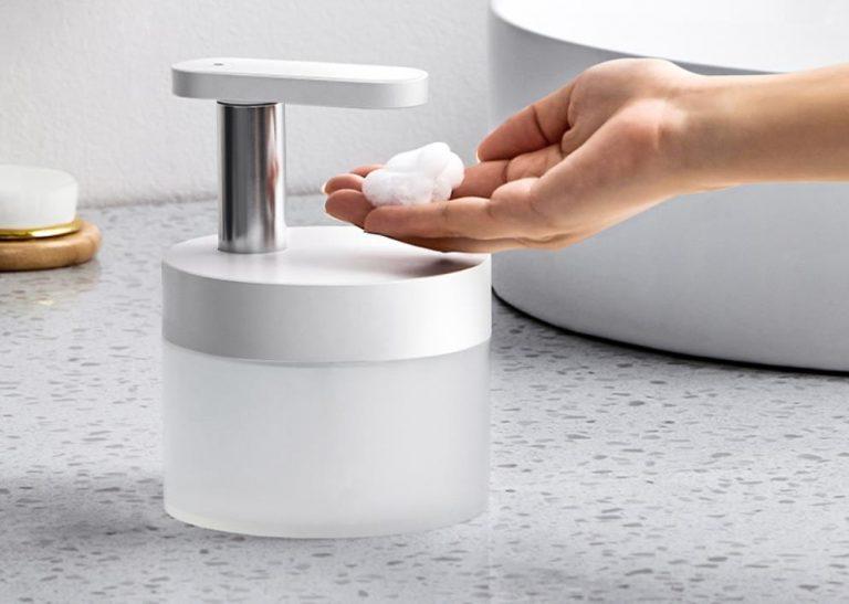 Végre egy szép szappanadagoló, ami akkumulátoros is 2