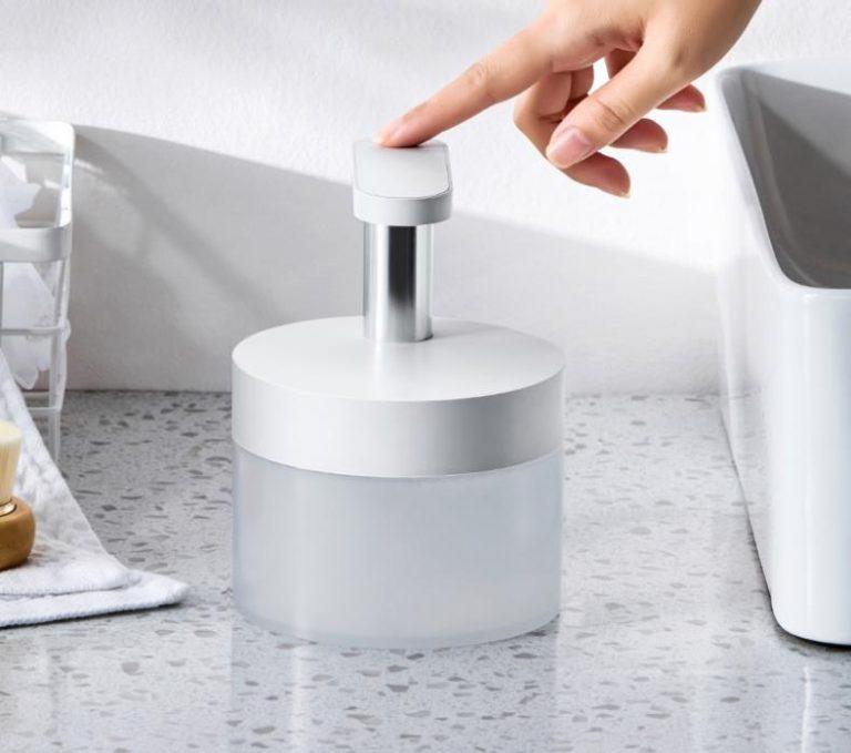 Végre egy szép szappanadagoló, ami akkumulátoros is 5
