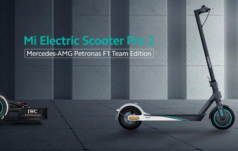 Xiaomi ft. Mercedes-AMG Petronas elektromos roller a piacon 2