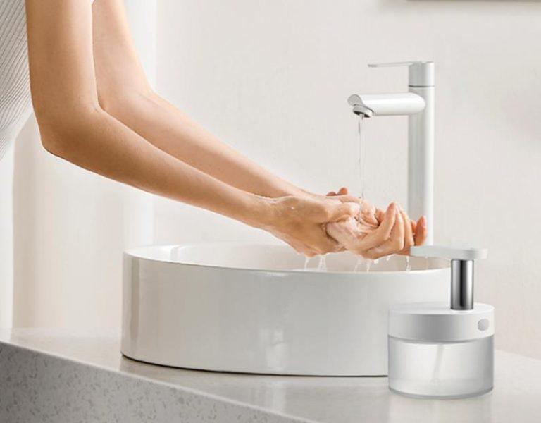 Végre egy szép szappanadagoló, ami akkumulátoros is 4
