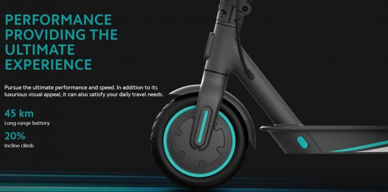 Xiaomi ft. Mercedes-AMG Petronas elektromos roller a piacon 5