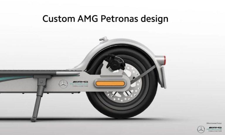 Xiaomi ft. Mercedes-AMG Petronas elektromos roller a piacon 6