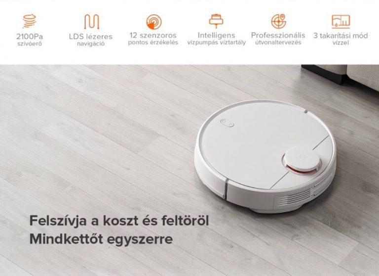 Jó áron kínálja a Xiaomishop Xiaomi Vacuum-Mop Pro-t 3
