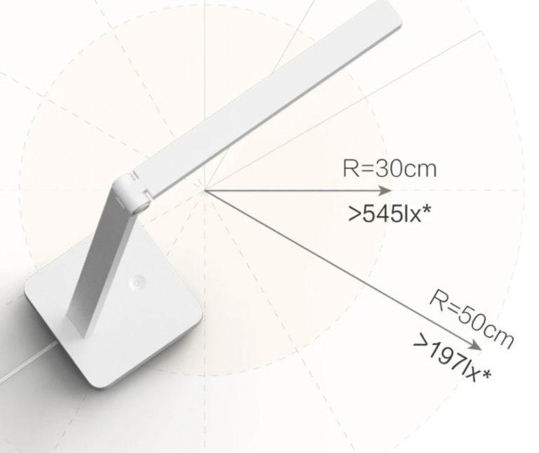 Olcsó Xiaomi lámpa tanuláshoz, munkához 7