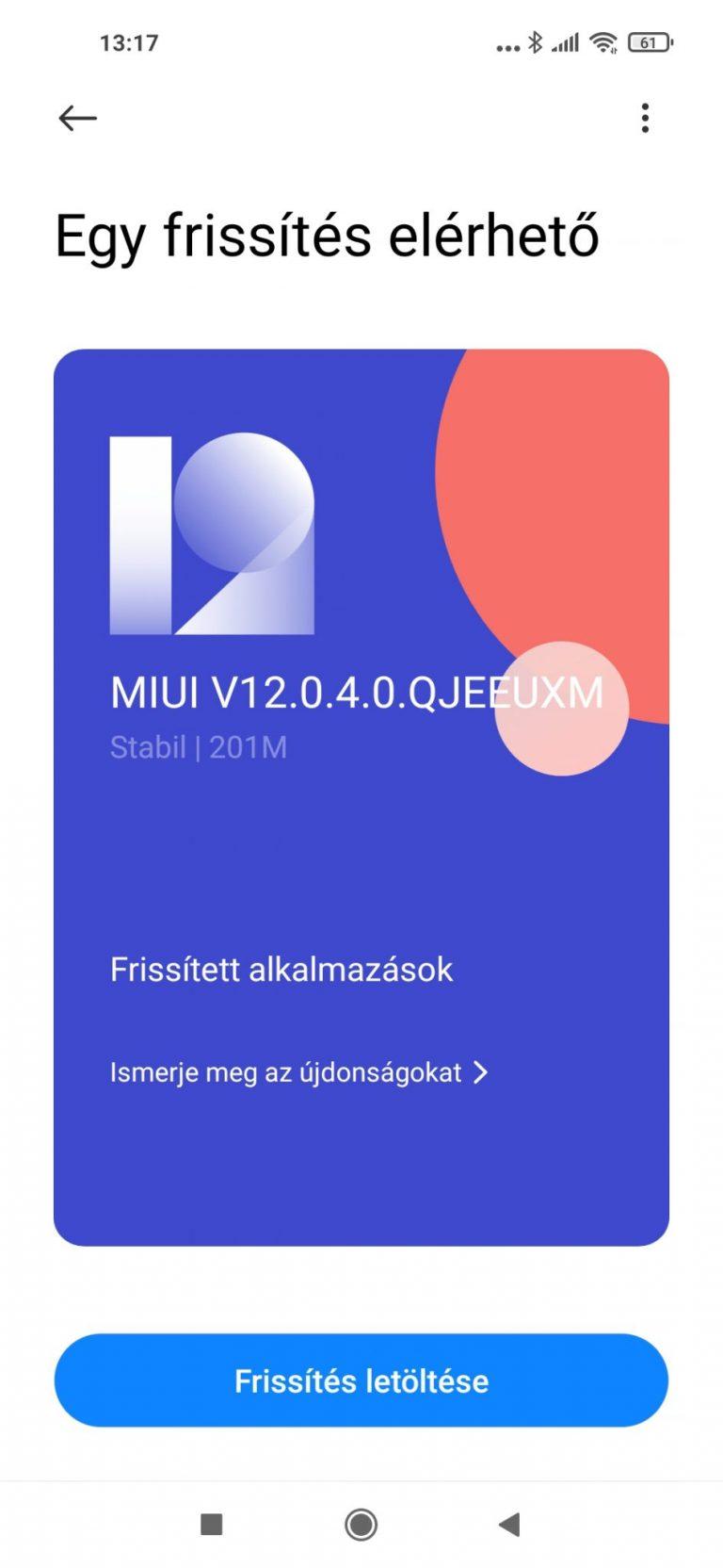 Xiaomi Redmi Note 9T okostelefon teszt 19