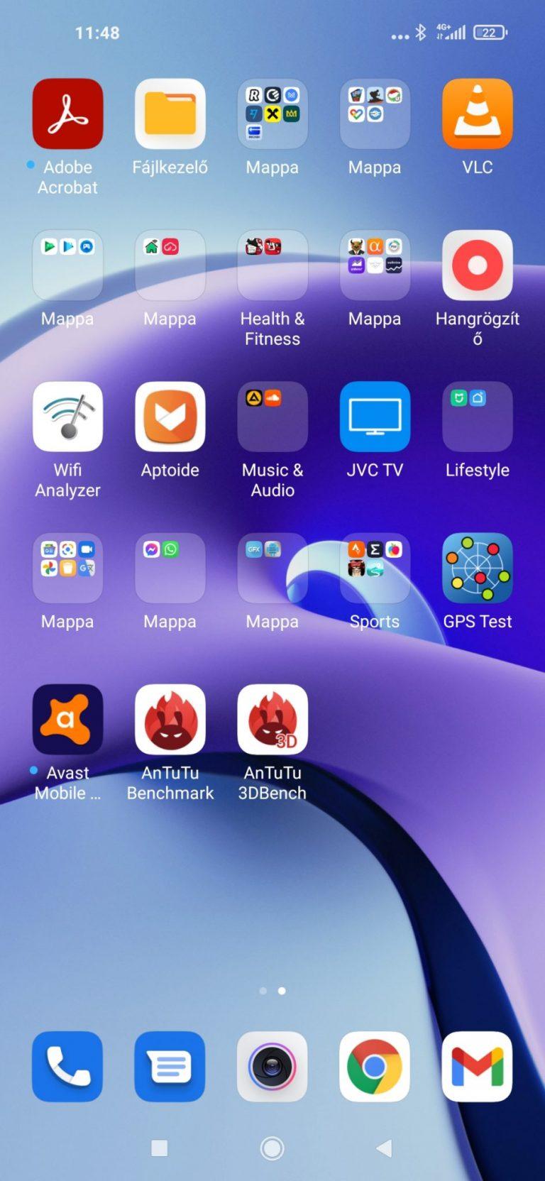 Xiaomi Redmi Note 9T okostelefon teszt 23