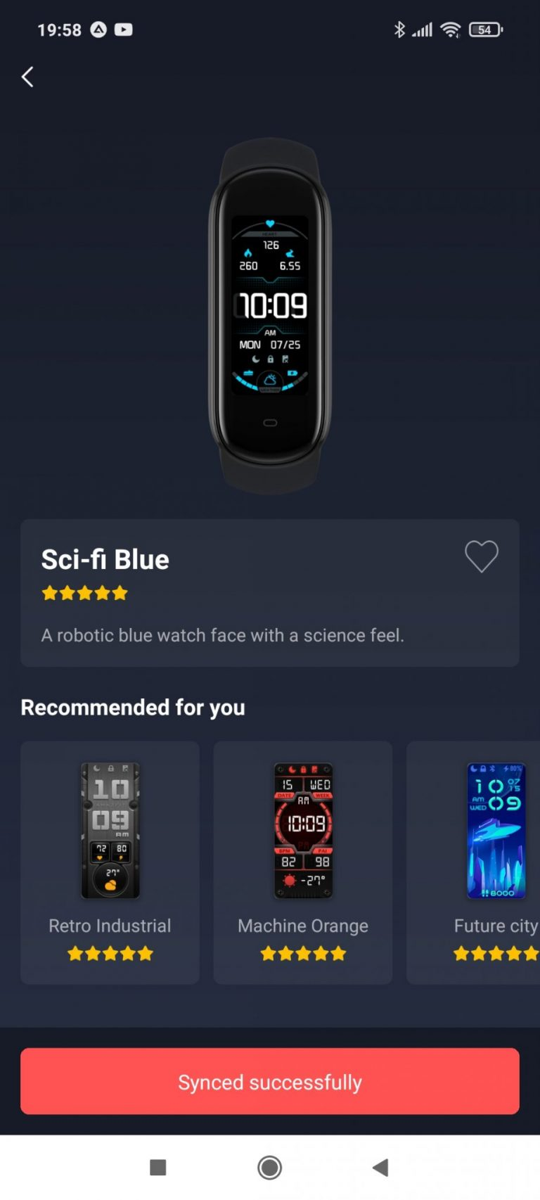 Xiaomi Amazfit Band 5 aktivitásmérő teszt 14