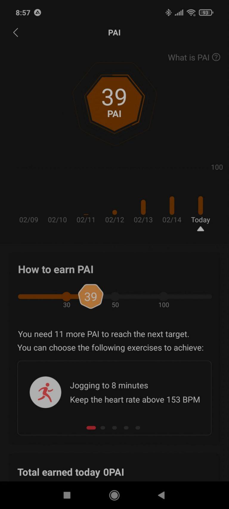 Xiaomi Amazfit Band 5 aktivitásmérő teszt 23