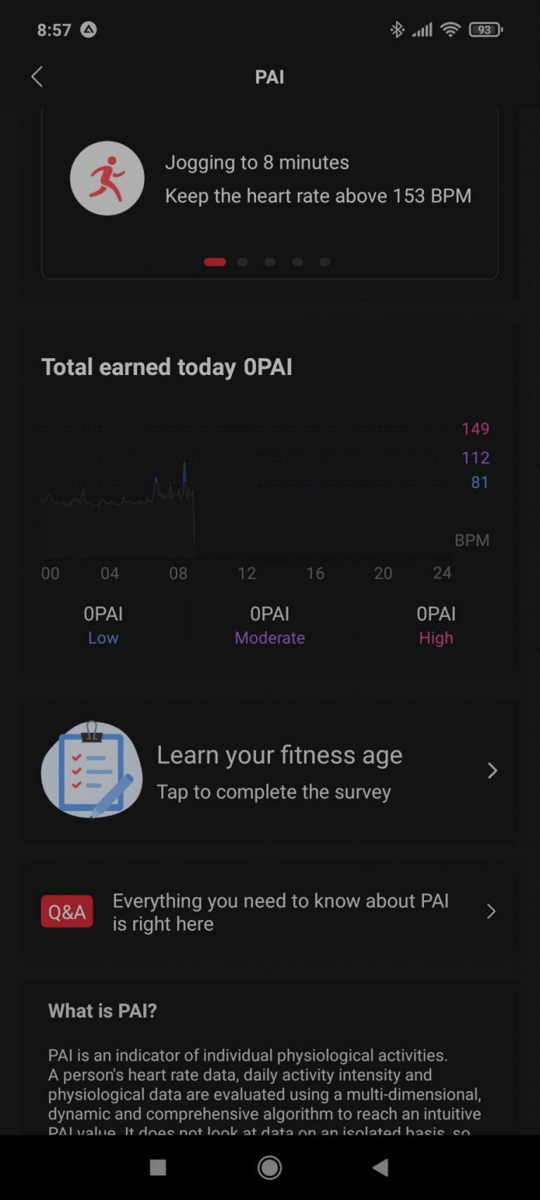 Xiaomi Amazfit Band 5 aktivitásmérő teszt 24