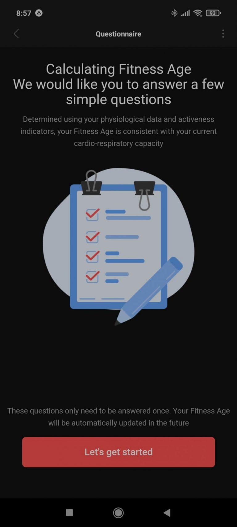 Xiaomi Amazfit Band 5 aktivitásmérő teszt 25