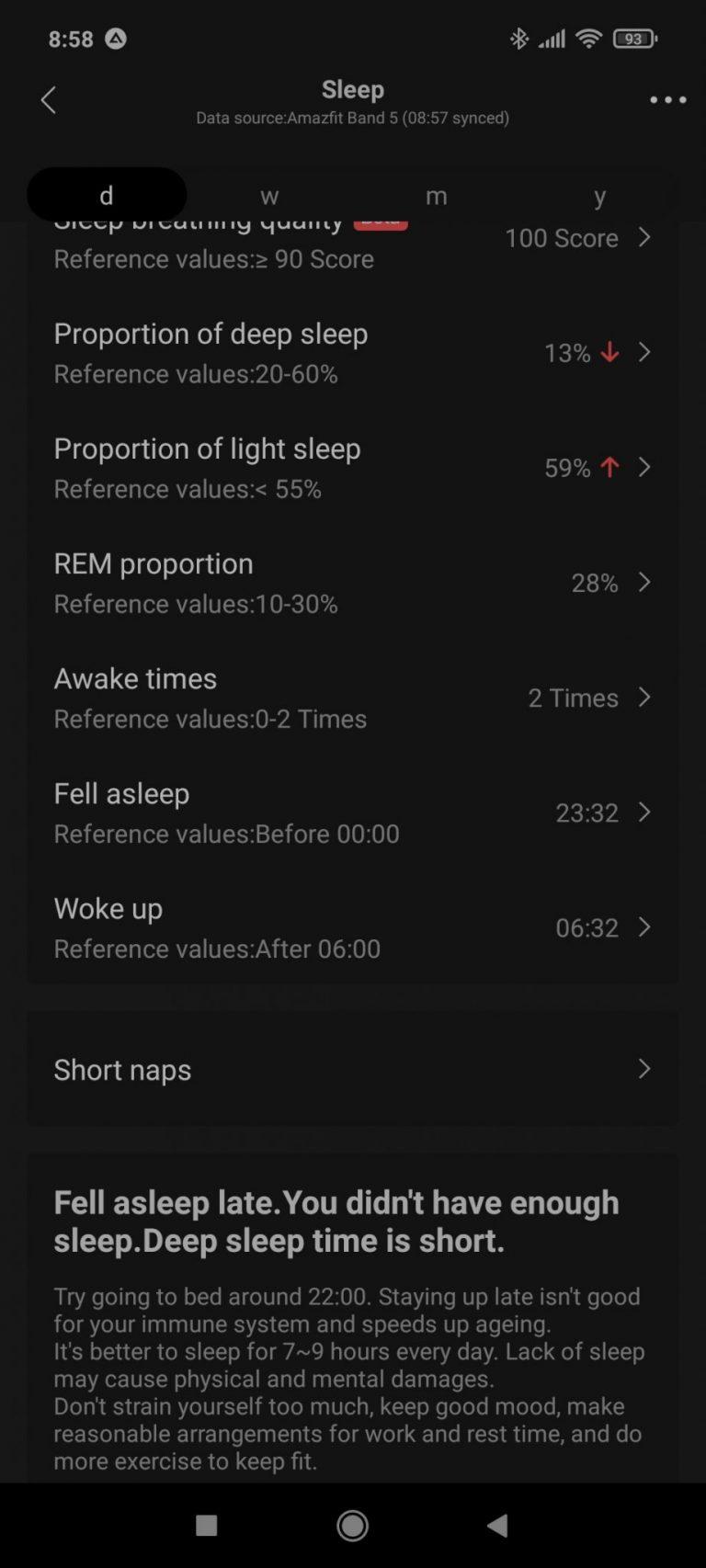 Xiaomi Amazfit Band 5 aktivitásmérő teszt 27