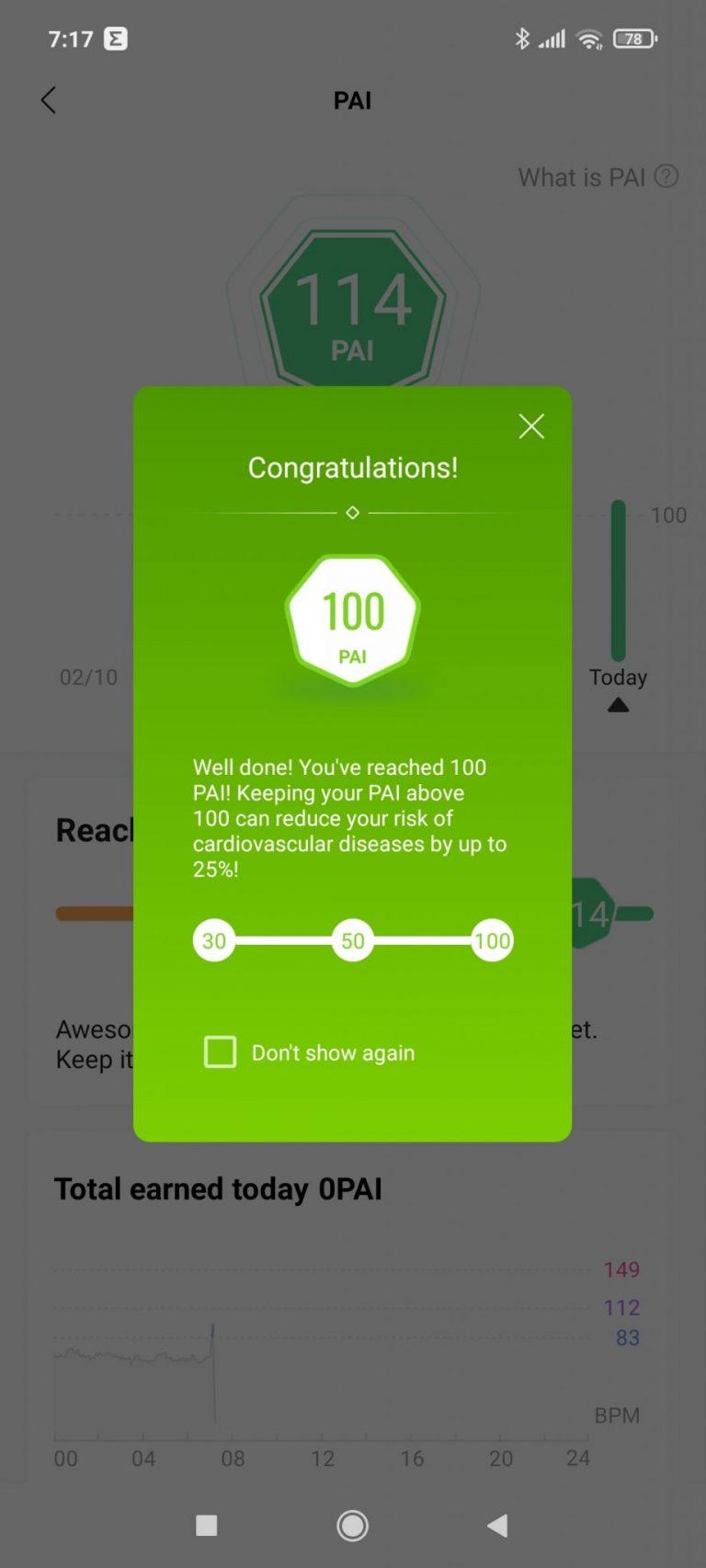 Xiaomi Amazfit Band 5 aktivitásmérő teszt 33