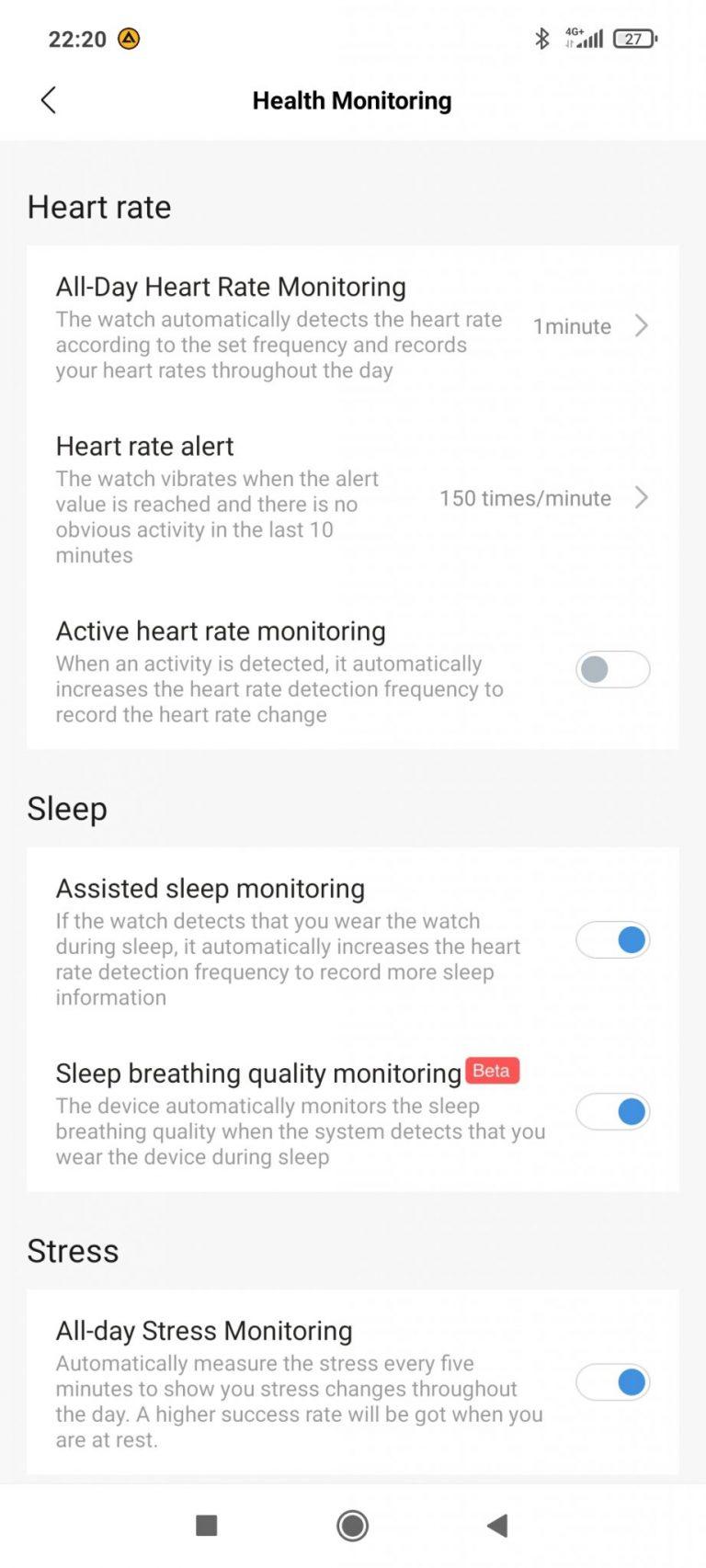 Xiaomi Amazfit Bip U Pro sportóra teszt 19