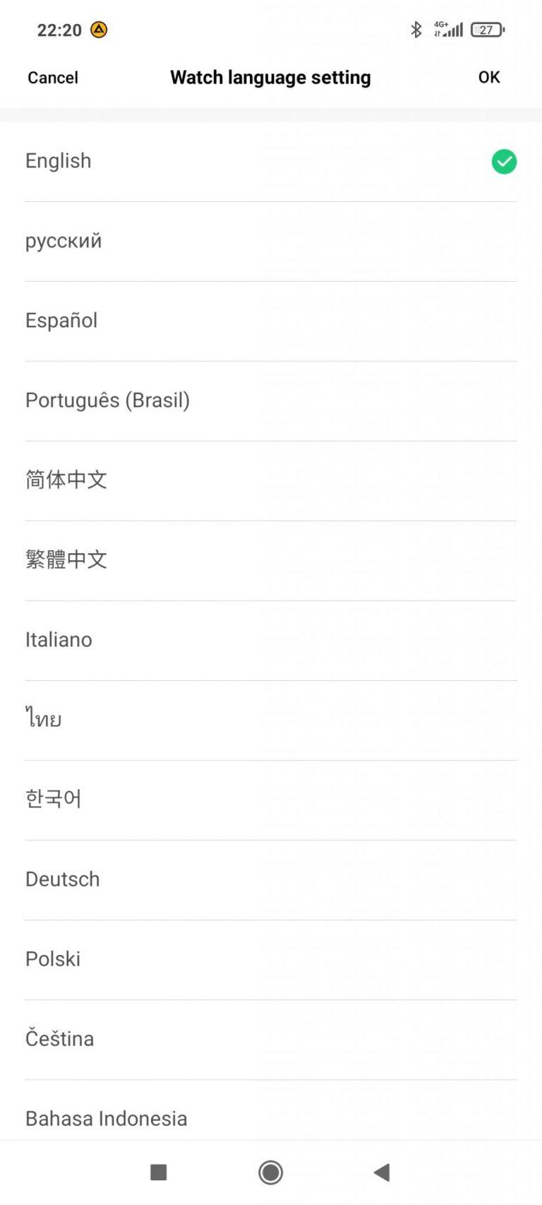 Xiaomi Amazfit Bip U Pro sportóra teszt 20