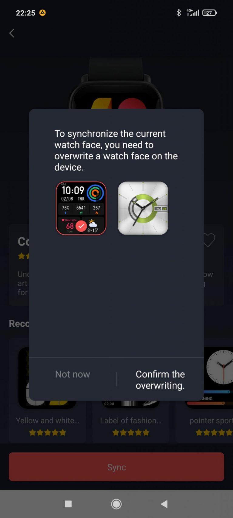 Xiaomi Amazfit Bip U Pro sportóra teszt 17