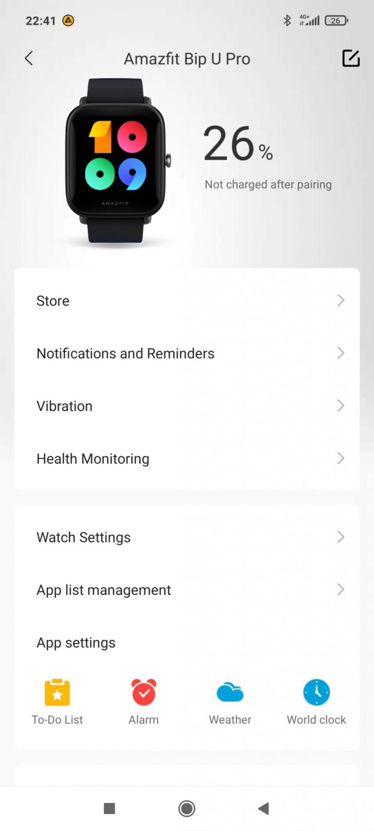 Xiaomi Amazfit Bip U Pro sportóra teszt 28