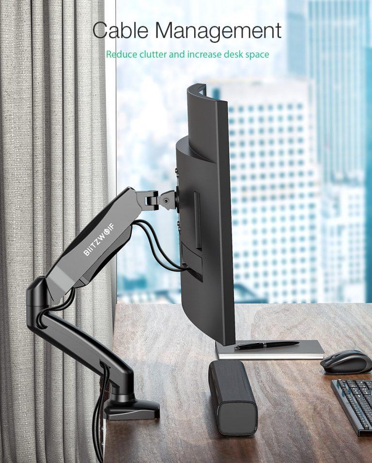 Praktikus monitortartó: BlitzWolf BW-MS1 7