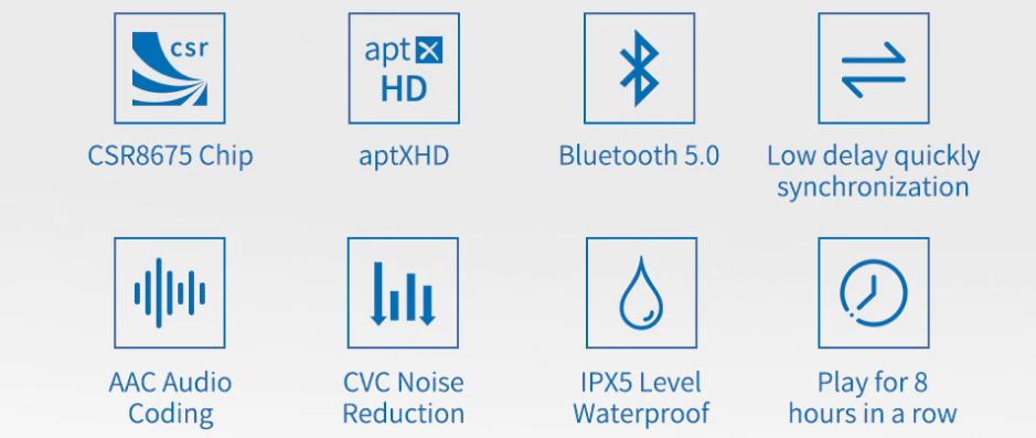 KZ aptX HD Bluetooth adapter teszt 13