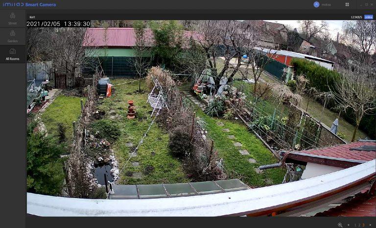 (Xiaomi) Imilab EC3 IP kamera teszt 12