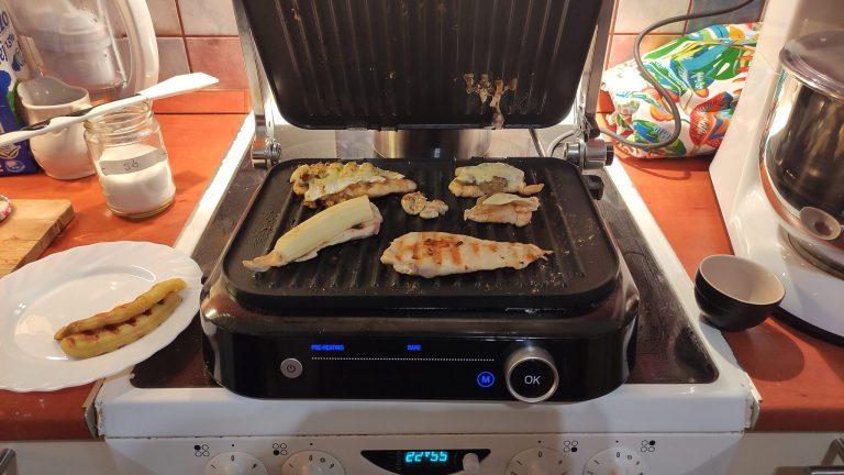 BlitzWolf BW-SM1 grill teszt 19
