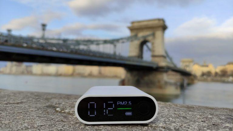 Xiaomi Smartmi PM detektor teszt 10