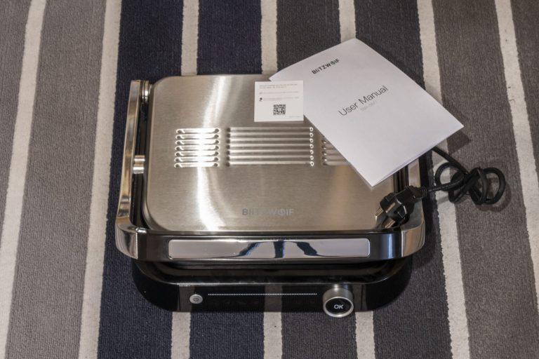 BlitzWolf BW-SM1 grill teszt 3
