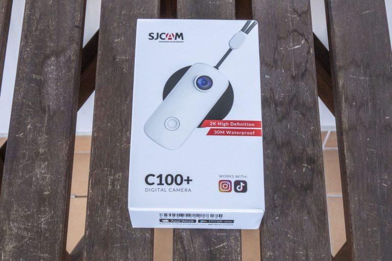 SJCAM C100+ akciókamera teszt 2