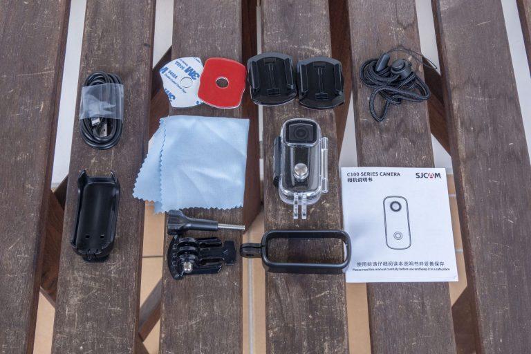 SJCAM C100+ akciókamera teszt 4