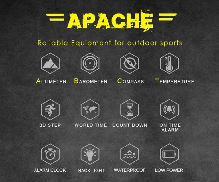A North Edge Apache óra okos, de nem úgy, ahogy gondolnánk 4