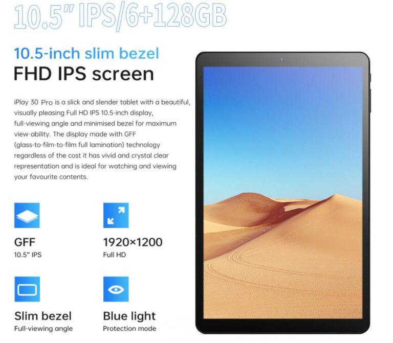 Árfaragás az Alldocube iPlay 30 Pro tabletből 9