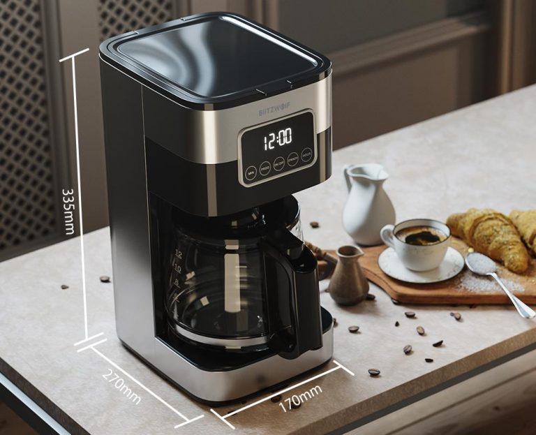 Filteres és presszógéppel kacsint be a kávégép piacra a BlitzWolf 8