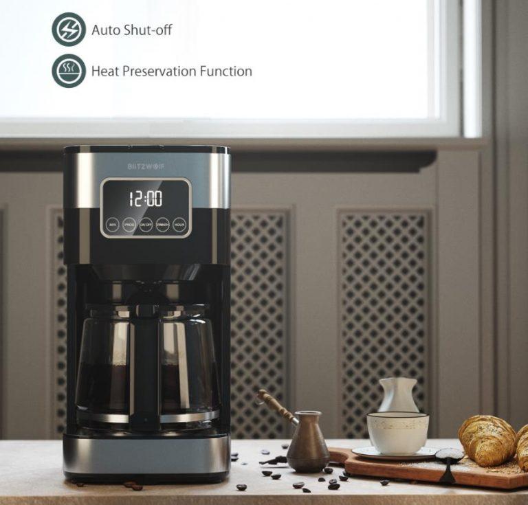 Filteres és presszógéppel kacsint be a kávégép piacra a BlitzWolf 4