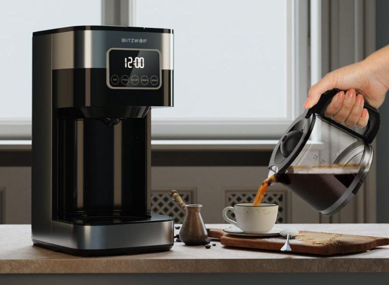 Filteres és presszógéppel kacsint be a kávégép piacra a BlitzWolf 5