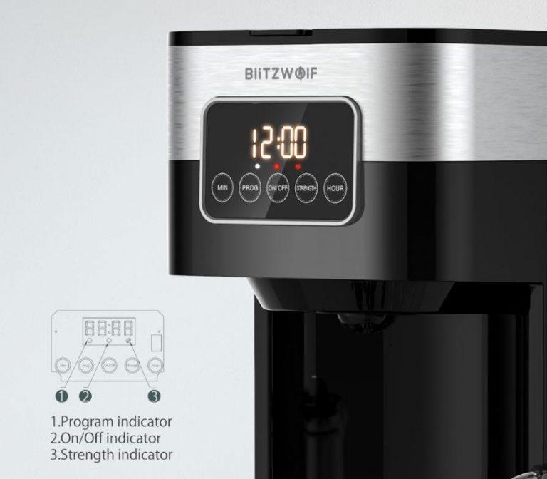 Filteres és presszógéppel kacsint be a kávégép piacra a BlitzWolf 6