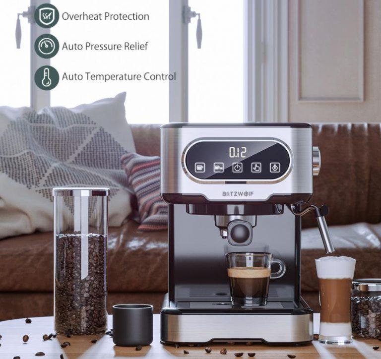 Filteres és presszógéppel kacsint be a kávégép piacra a BlitzWolf 11