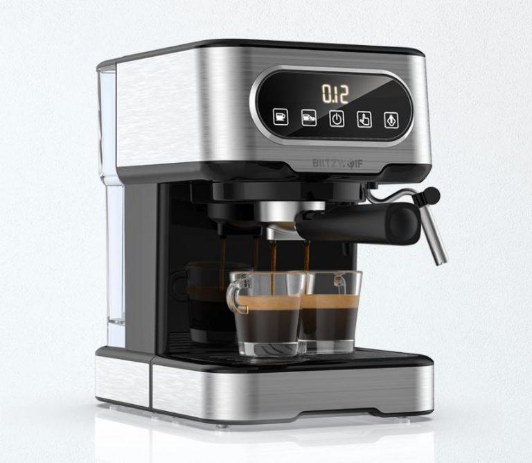 Filteres és presszógéppel kacsint be a kávégép piacra a BlitzWolf 12