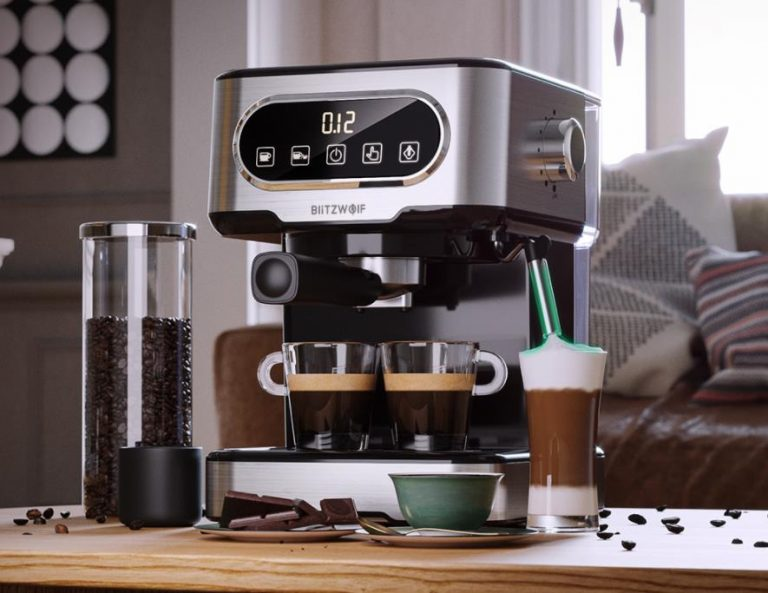 Filteres és presszógéppel kacsint be a kávégép piacra a BlitzWolf 14