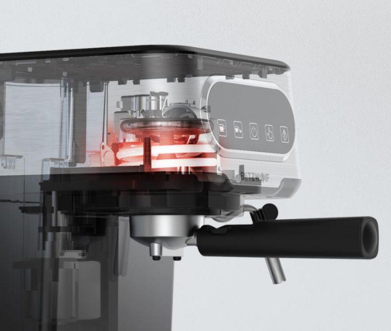 Filteres és presszógéppel kacsint be a kávégép piacra a BlitzWolf 10