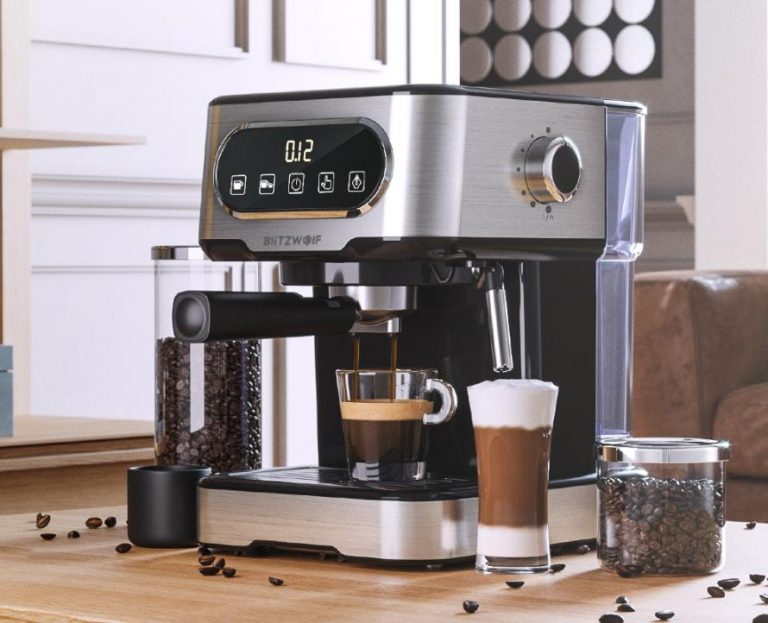 Filteres és presszógéppel kacsint be a kávégép piacra a BlitzWolf 9