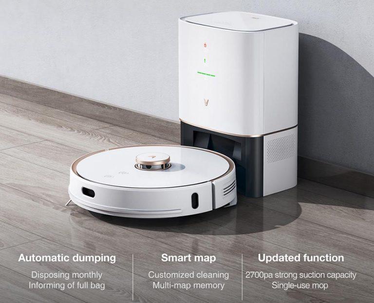Egyre olcsóbb a Viomi önmagát ürítő robotporszívója, az S9 2