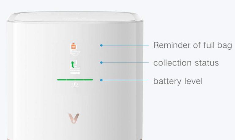 Egyre olcsóbb a Viomi önmagát ürítő robotporszívója, az S9 4