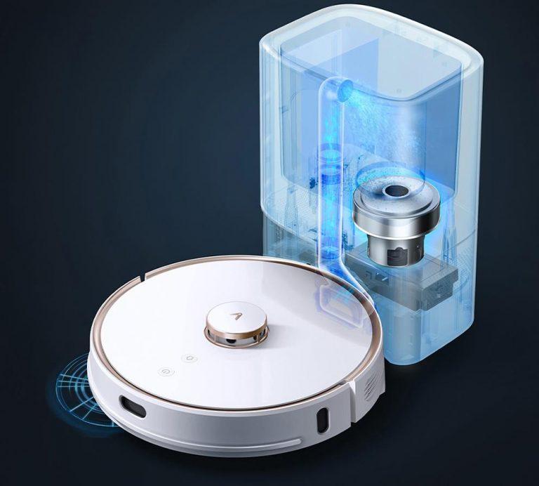 Egyre olcsóbb a Viomi önmagát ürítő robotporszívója, az S9 5