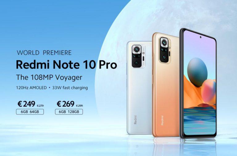 EU raktárból előrendelhető a vadiúj Xiaomi Redmi Note 10 9