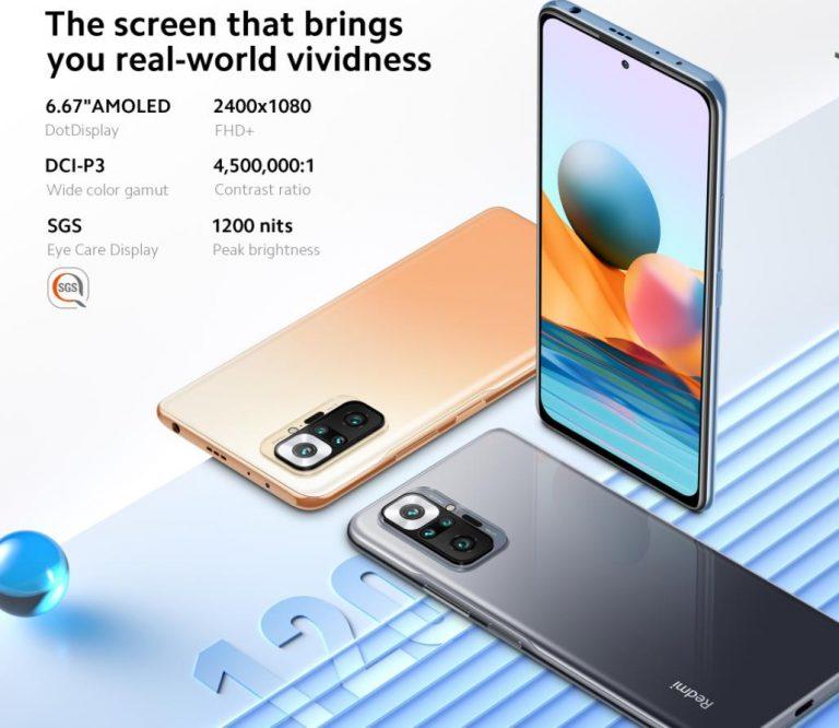 EU raktárból előrendelhető a vadiúj Xiaomi Redmi Note 10 10