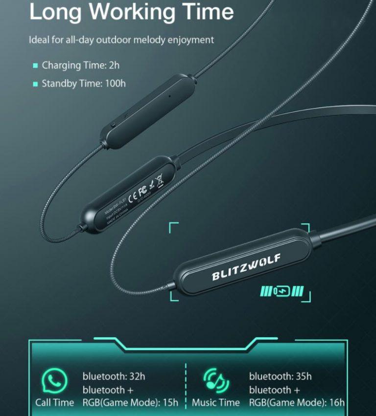Új 'collar' típusú BlitzWolf fülhallgató rendelhető a Banggoodról 3