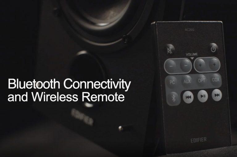 Profi minőségű Edifier Bluetooth-os polcsugárzó EU raktárból 8