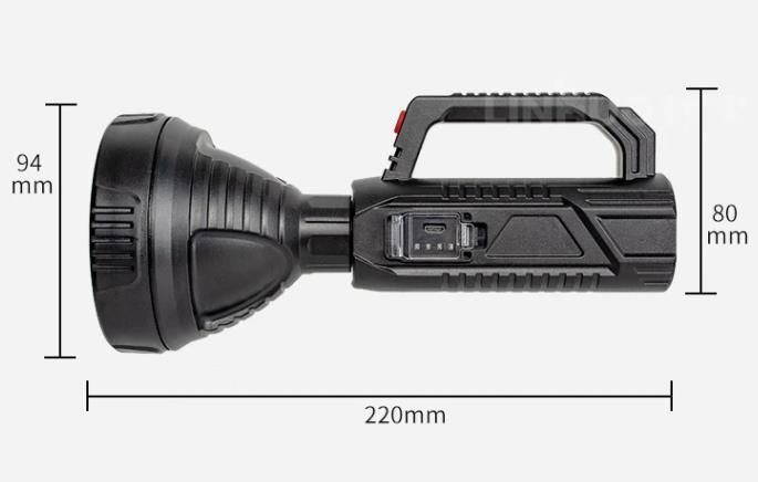 2000 lumen fényerőre képes az új budget Xanes zseblámpa 6