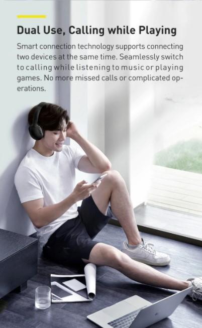 Letisztult külsejű Bluetooth fejhallgató a Baseustól 4